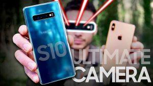 Samsung Galaxy S10+ iPhone Xs Max