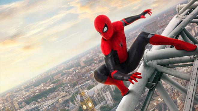 Avengers Endgame sonrası vizyona girecek olan Spider-Man Far From Home posterleri