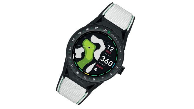 "TAG Heuer Connected Modular 45 ""Golf Edition"" akıllı saat"