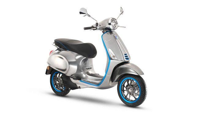 elektrikli motosiklet Vespa Elettrica