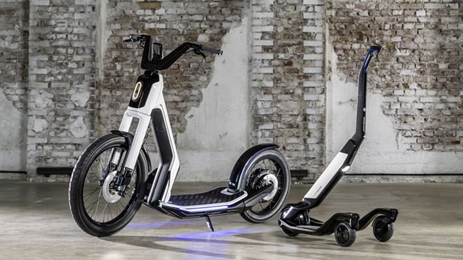 elektrikli scooter Volkswagen Streetmate Volkswagen Cityskater