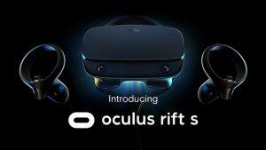 Oculus Rift S sanal gerçeklik başlığı