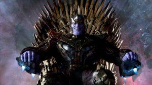 Avengers Endgame ve Game of Thrones buluşturan görsel