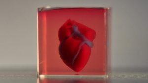 üç boyutlu yazıcı kalp