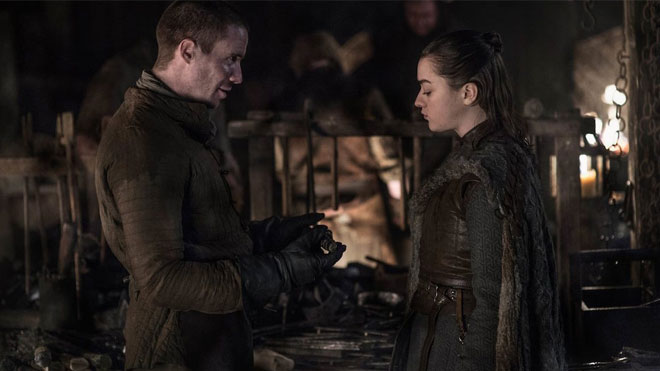 Game of Thrones 8. sezon 1. bölüm Arya