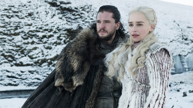 Game of Thrones 8. sezon 1. bölüm Kit Harington tepkisi