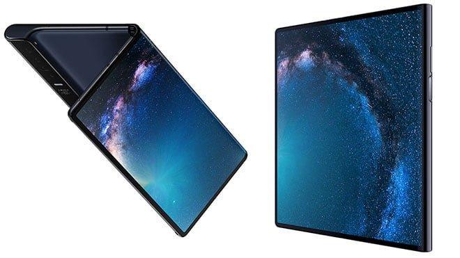 Katlanabilir telefon Huawei Mate X