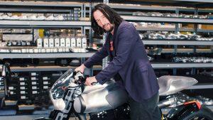 Keanu Reeves motosiklet