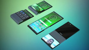 Lenovo katlanabilir telefon