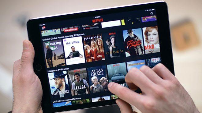 Netflix iPad iPhone AirPlay