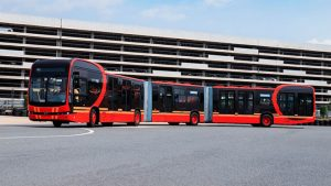 dünyanın en uzun elektrikli otobüs modeli dünyanın en uzun elektrikli otobüsü
