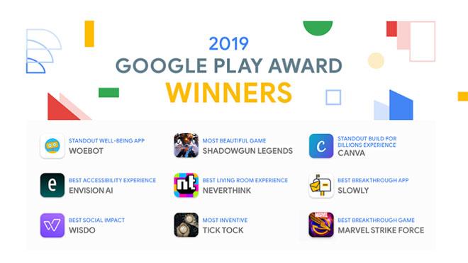 2019 Google Play Award