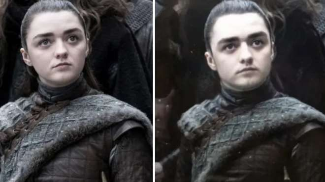 Arya Stark ve Aaron Stark