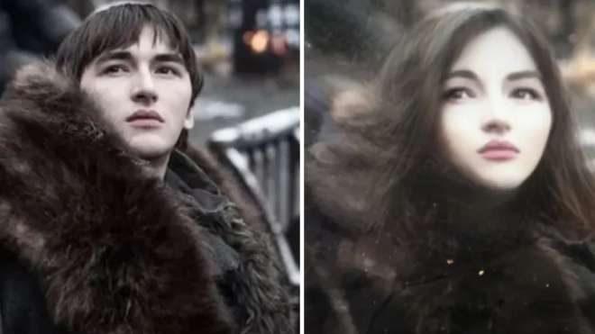Bran Stark ve Brittany Stark