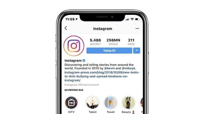 Instagram çıkartma