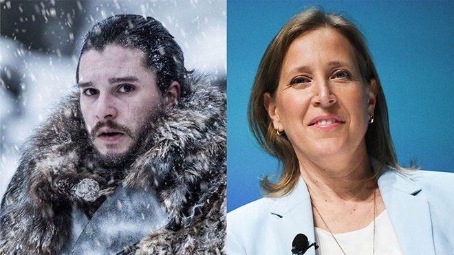 Jon_Snow_Susan_Wojcicki