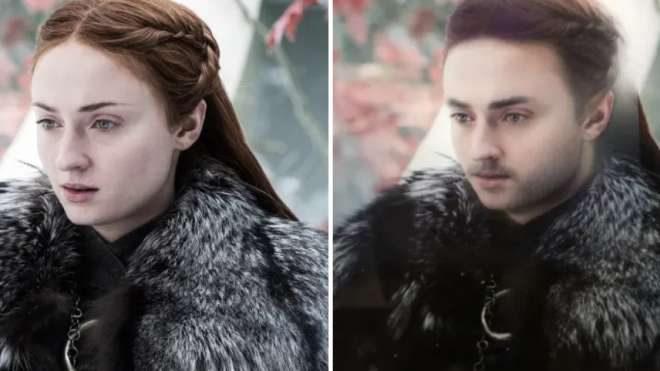 Sansa Stark ve Sean Stark
