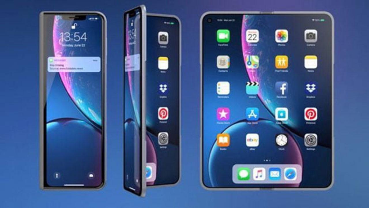 Apple'ın yeni ortaya çıkan katlanabilir telefon hamlesi - LOG