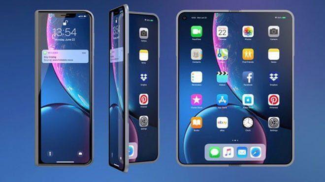 Apple katlanabilir iphone katlanabilir telefon