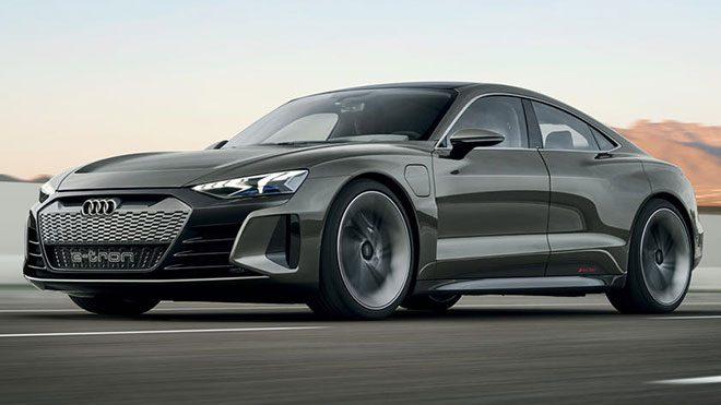 Audi e-tron GT concept Avengers Endgame