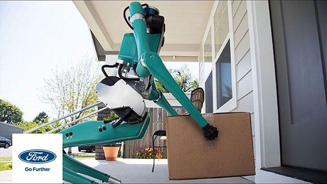 Ford insansı robot