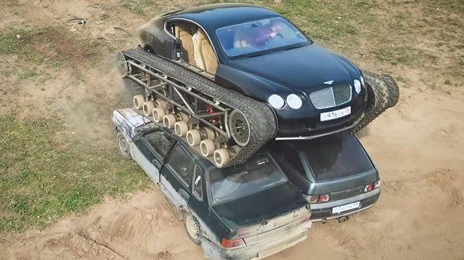 Bentley Continental GT Ultratank