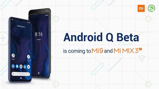 Android Q Redmi Xiaomi