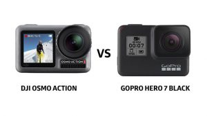 DJI osmo action vs gopro hero 7 black