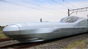 Japonya Bullet Train mermi tren