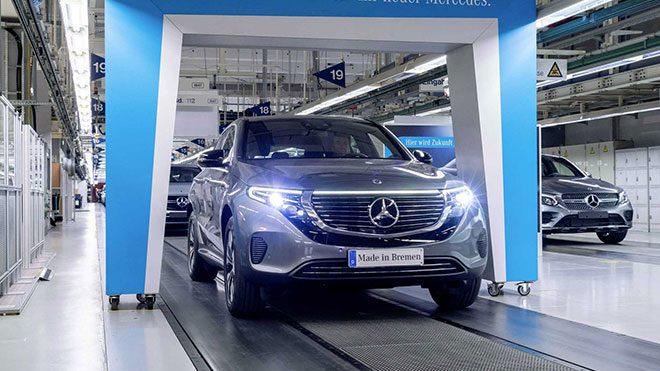 Mercedes EQC elektrikli otomobil