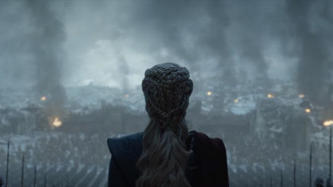 Game of Thrones 8. sezon 5. bölüm sonrası yayınlanan Game of Thrones 8. sezon 6. bölüm fragmanı