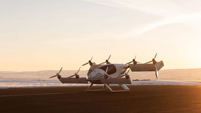 Uçan taksi Airbus Vahana