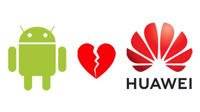 Huawei için Google Android yasağı