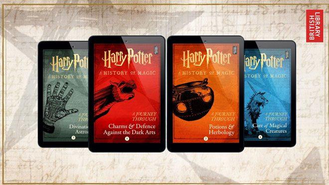 Harry Potter yeni kitaplar