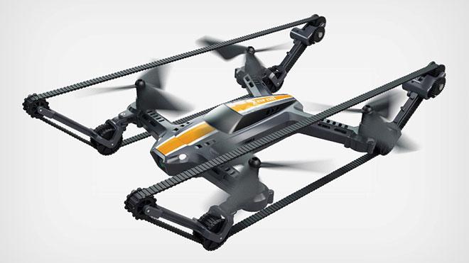 Tank drone X-Tankcopter