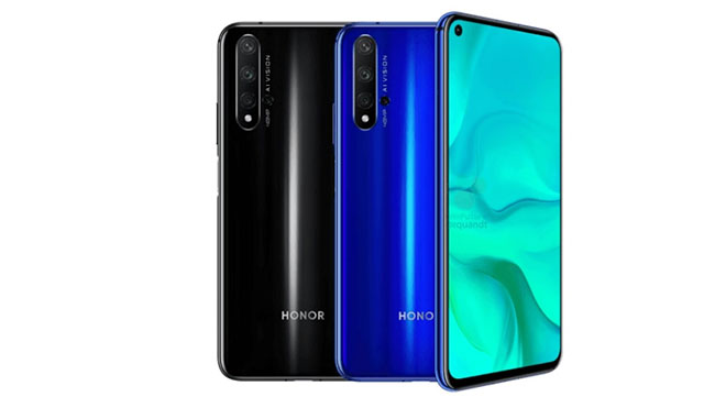 Honor 20 ve Honor 20 Pro
