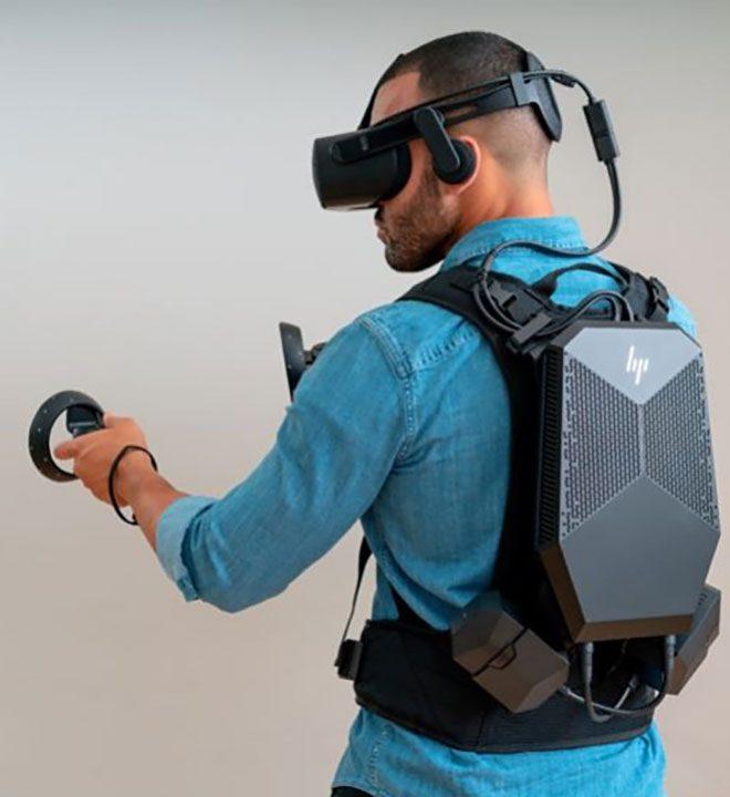 HP HP VR Backpack G2 giyilebilir bilgisayar