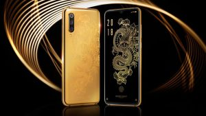 Altın kaplama Xiaomi Mi 9