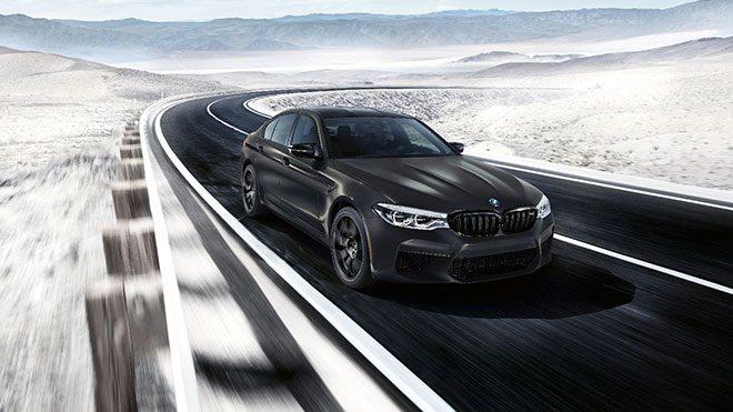 617 beygirlik doğum günü kutlaması; 2020 BMW M5 Edition 35 Years