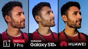 OnePlus 7 Pro vs Samsung Galaxy S10 Plus vs Huawei P30 Pro