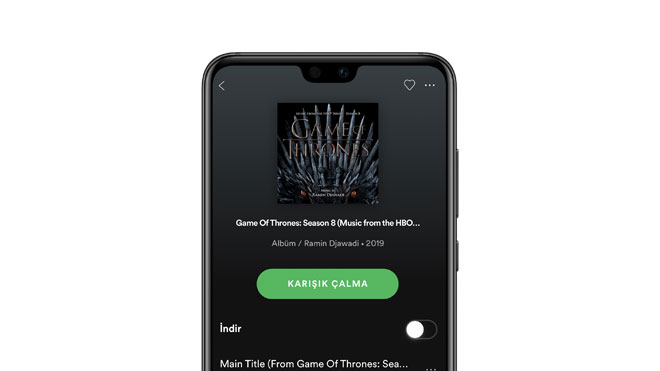 Spotify yeni özelilk