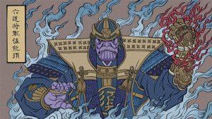 takumi toxin Japon illüstrasyon avengers