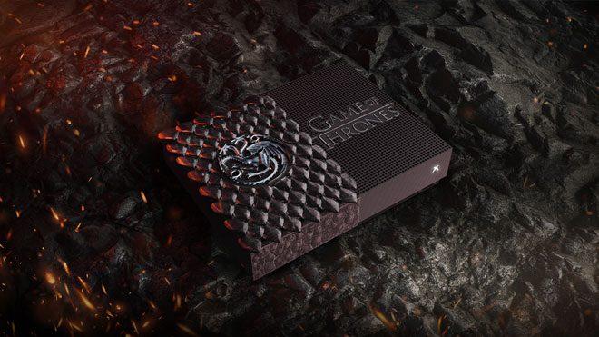 Game of Thrones Targaryen temalı Xbox One S
