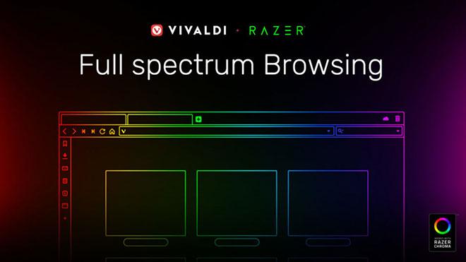 Vivaldi Razer Chroma