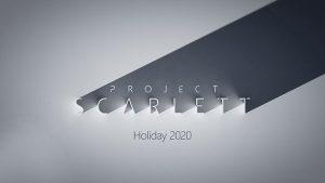 Microsoft Xbox Project Scarlett