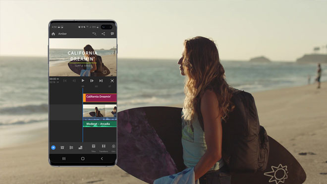 Adobe Premiere Rush for Samsung