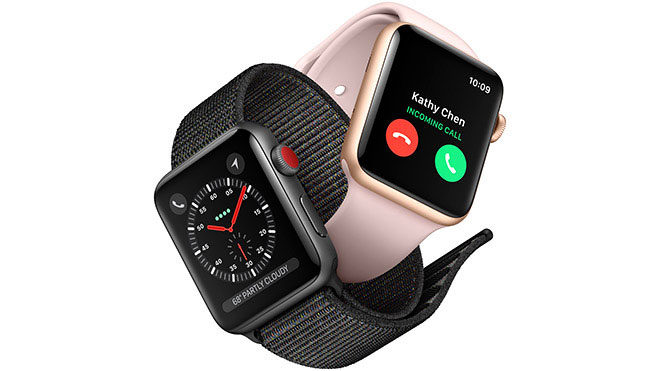 Apple Watch kamera