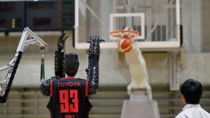 Toyota basketbolcu robot Cue3 Guinness Rekorlar Kitabı