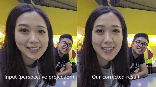 Google geniş açı lens