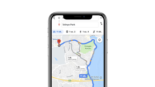 """Google Haritalar """"yolcu dolaştıran taksi"""" lerin önünü kesecek özellik"""